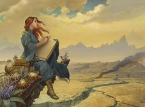 Shallan, Painting by Michael Whelan