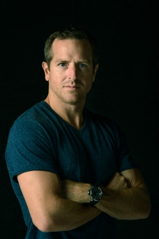 Best selling science fiction author Hugh Howey for College of Charleston Magazine